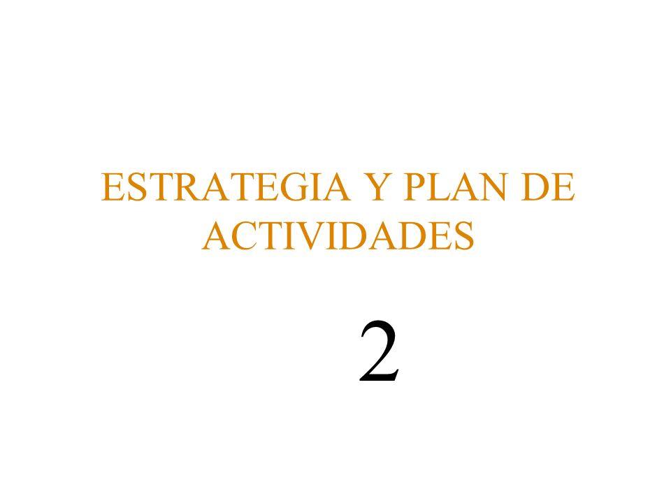 ESTRATEGIA Y PLAN DE ACTIVIDADES 2