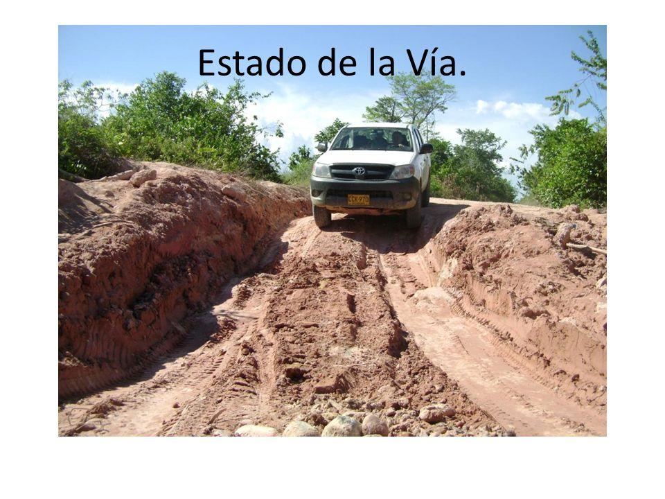 Estado de la Vía.