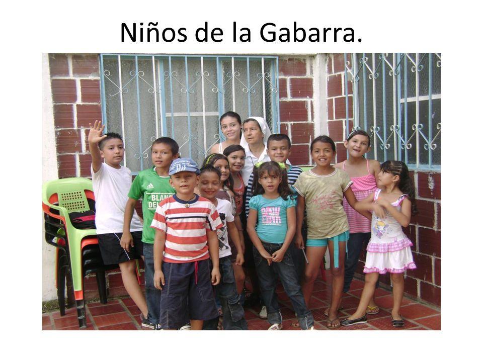 Niños de la Gabarra.