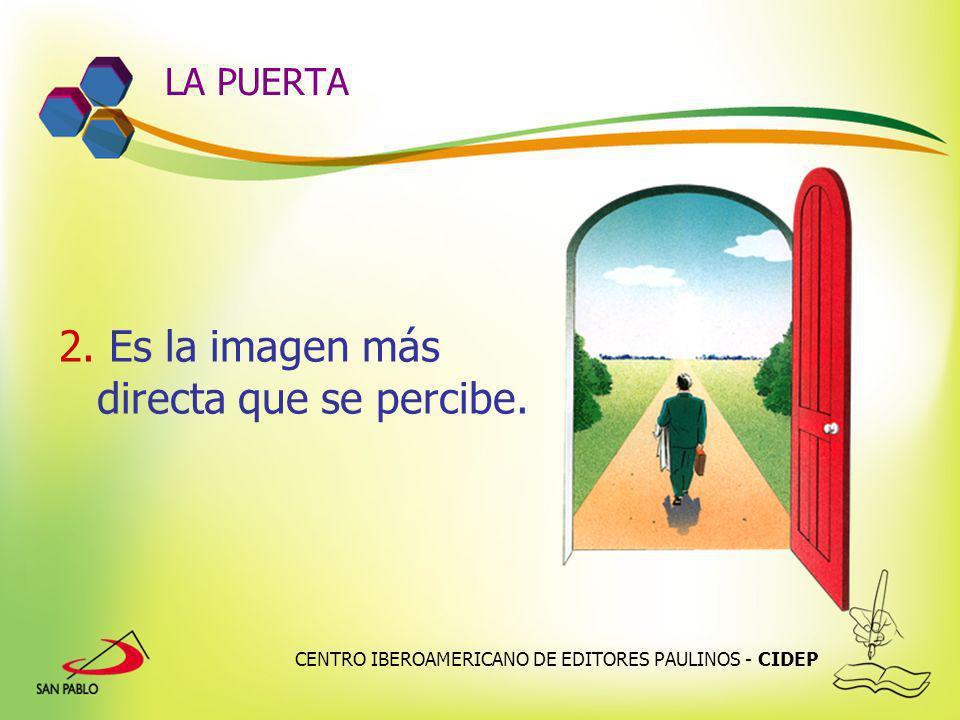 CENTRO IBEROAMERICANO DE EDITORES PAULINOS - CIDEP LA PUERTA 2. Es la imagen más directa que se percibe.