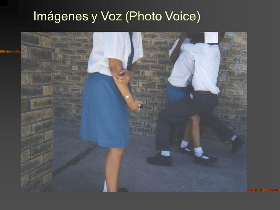 Imágenes y Voz (Photo Voice)