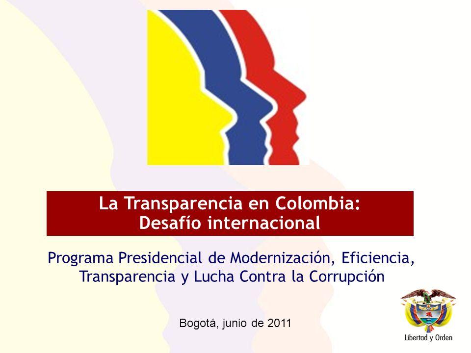 Hasta hace no mucho tiempo cada país consideraba la necesidad de tipificar las conductas corruptas y de tomar las medidas que consideraba pertinentes.