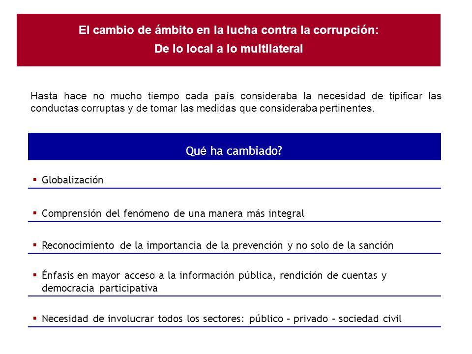 Fortalecer en cada Estado los mecanismos para prevenir, detectar, sancionar y erradicar la corrupción.