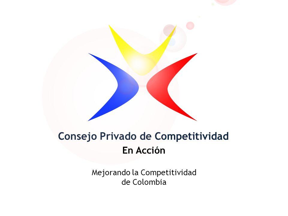 Consejo Privado de Competitividad En Acción Mejorando la Competitividad de Colombia