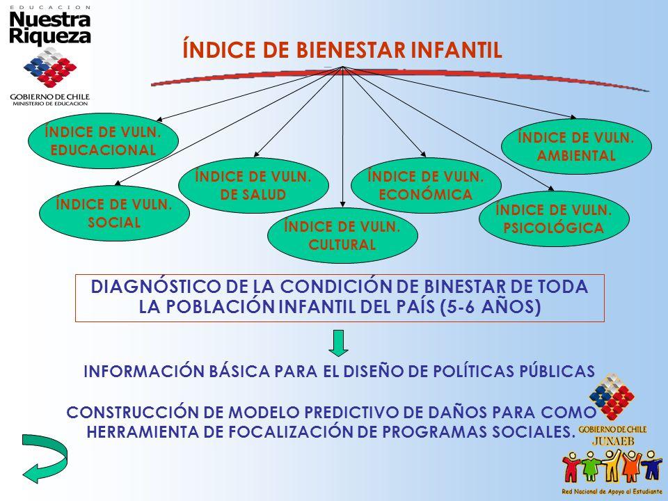 Construcción de las desigualdades educacionales y sociales.