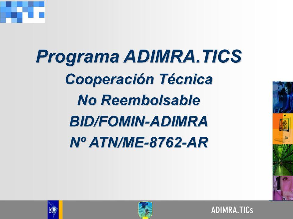 Mejoramiento de la productividad de las PYMES metalúrgicas mediante la incorporación de tecnologías de la información y la comunicación (TICS) Objetivo del Programa