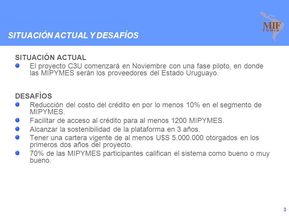 2 Este 20 de Noviembre de 2009 se hará lanzamiento oficial al proyecto C3U en Montevideo - Uruguay.