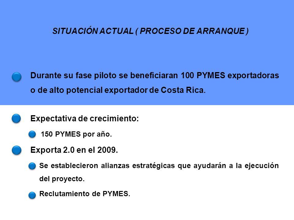 Portal EXPORICA CONSULTORÍA Y FORMACIÓN SOLUCIONES EXPORTADORAS TIC RESULTADOS ALCANZADOS (ESPERADOS)