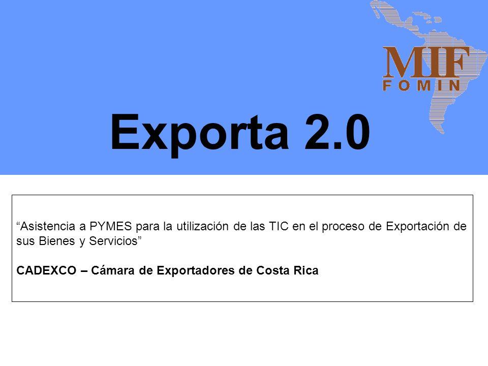 Durante su fase piloto se beneficiaran 100 PYMES exportadoras o de alto potencial exportador de Costa Rica.