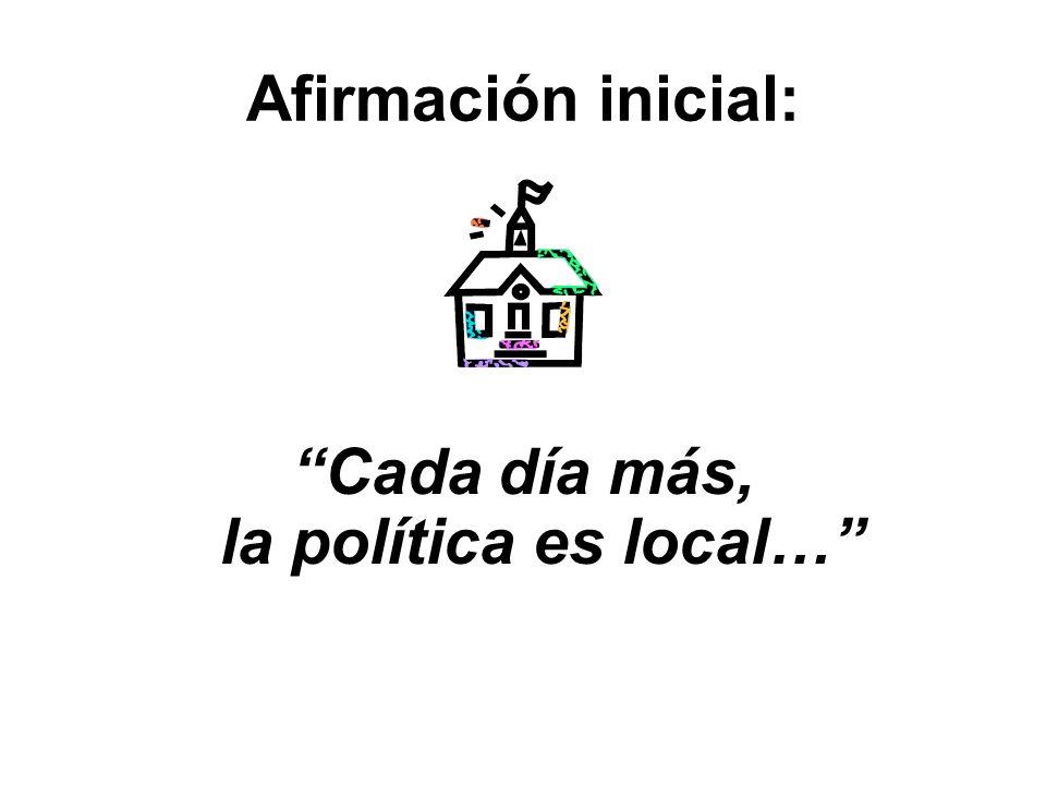 PARTIDOS POLÍTICOS Y ESTRATEGIAS PARA UNA BUENA GESTIÓN MUNICIPAL Luis F. Nunes Instituto Nacional Demócrata (NDI)