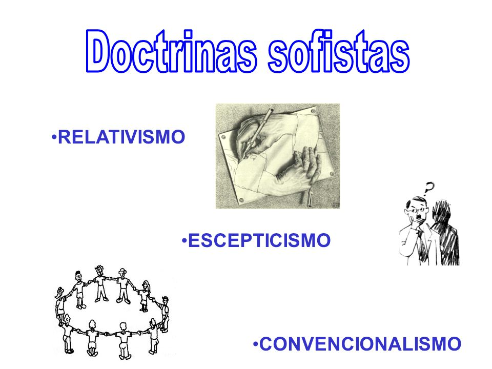 RELATIVISMO ESCEPTICISMO CONVENCIONALISMO