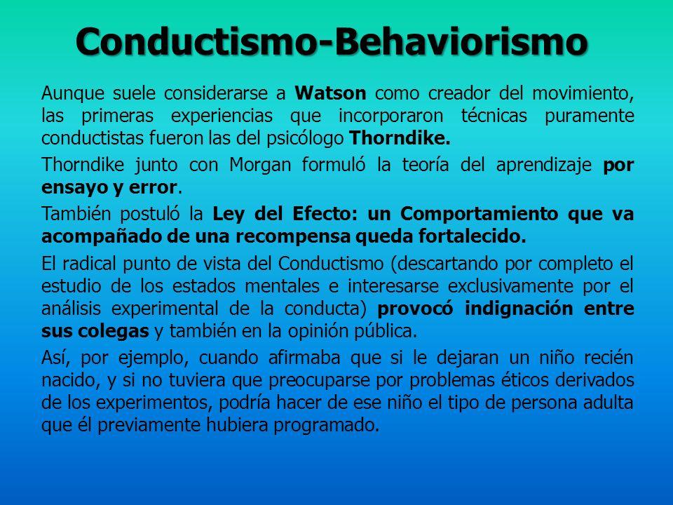 Precursores: Tolman (teoría propositiva, mapas cognitivos, aprendizaje latente, expectativas y conceptos) Gestalt (organización perceptiva, proceso cerebral holístico, insight, pensamiento productivo y reproductivo) Teorías actuales: Bruner (representación del conocimiento, aprendizaje por descubrimiento) Piaget (aprendizaje activo, desarrollo de la inteligencia, invariantes funcionales) Vigotsky (aprendizaje por mediación, pensamiento y lenguaje, tipos de pensamiento) Bandura (aprendizaje por observación, procesos del modelado, factores cognitivos) APRENDIZAJE COGNITIVO