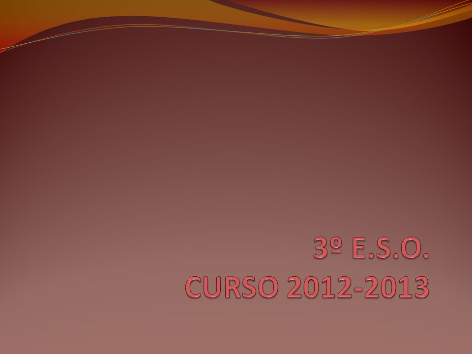 MATERIAS OPTATIVAS 4º ESO Francés (si se cursó en 1º, 2º y 3º).