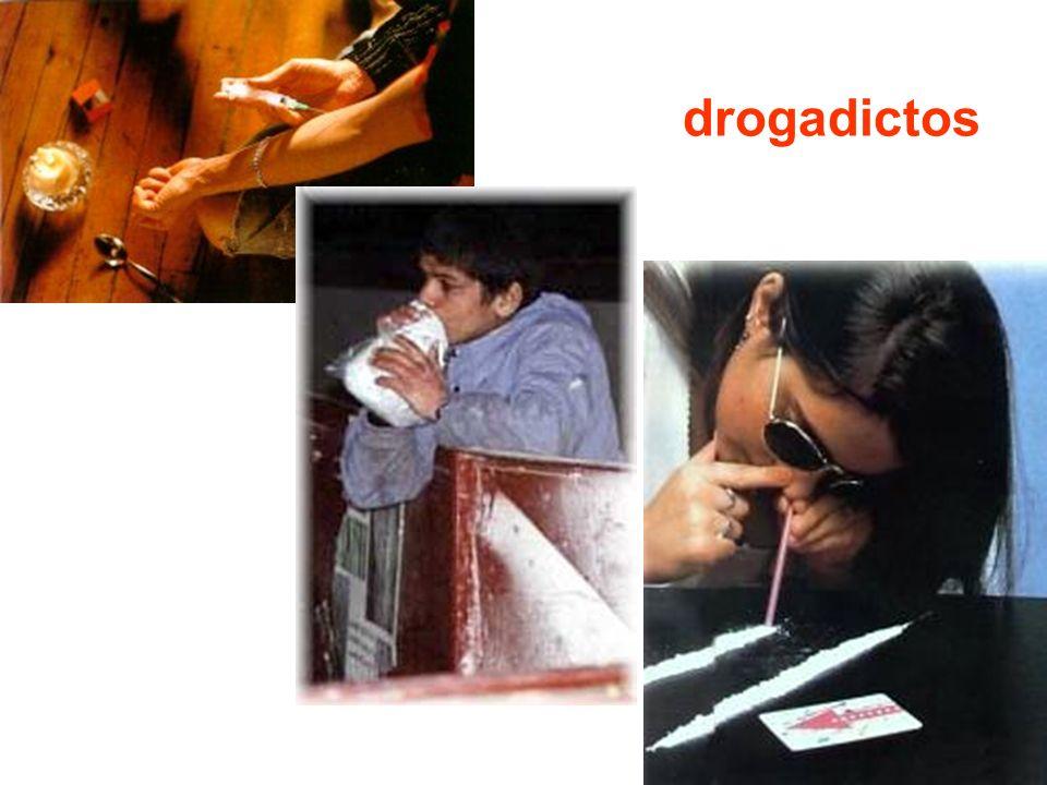drogadictos