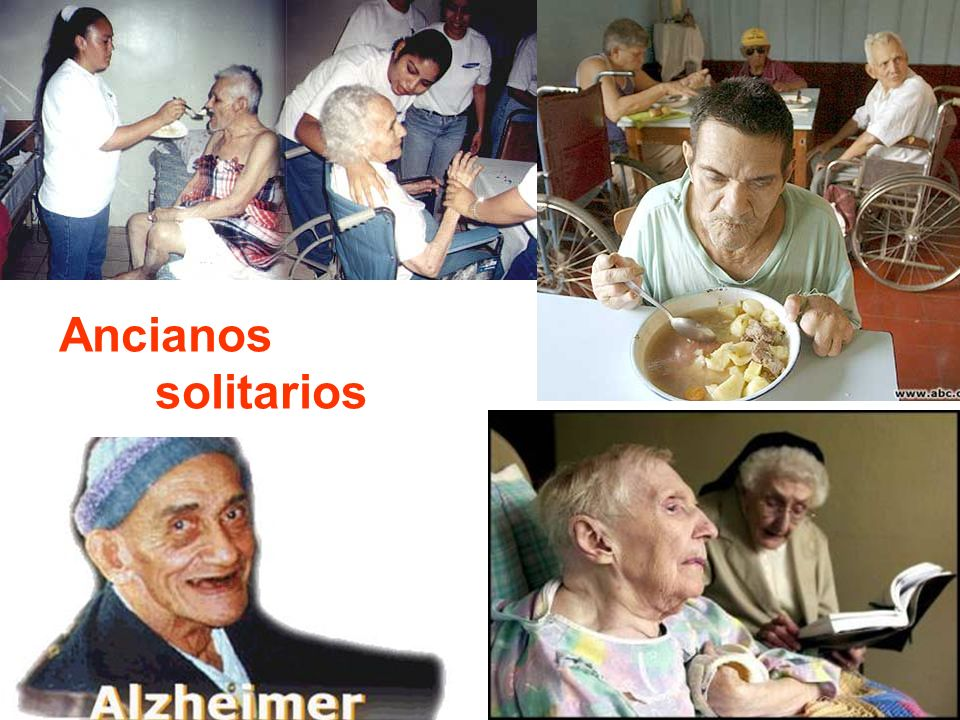 Ancianos solitarios