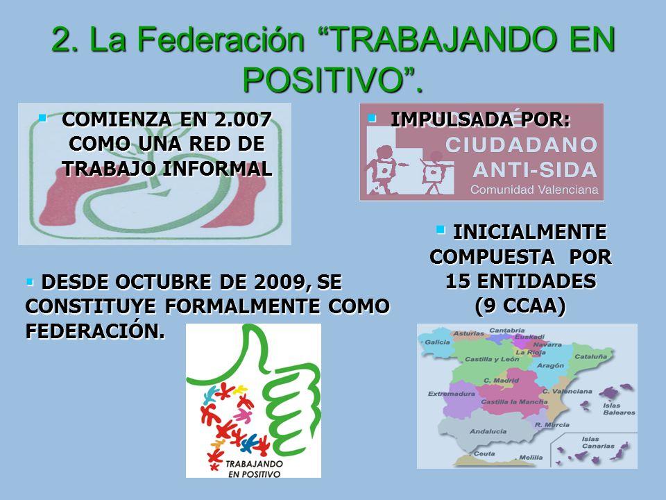 Algunas acciones de la Federación Trabajando en Positivo junto a sindicatos (III.2) 4.