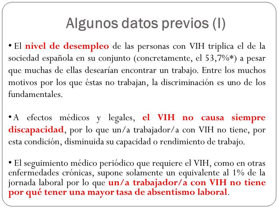 El nivel de desempleo de las personas con VIH triplica el de la sociedad española en su conjunto (concretamente, el 53,7%*) a pesar que muchas de ella