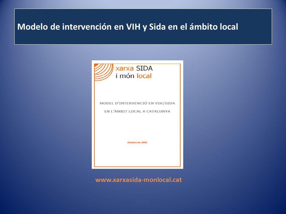 Modelo de intervención en VIH y Sida en el ámbito local www.xarxasida-monlocal.cat
