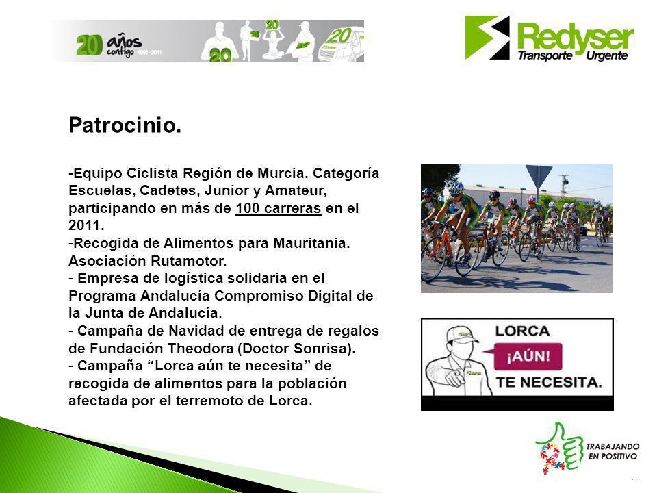 14 Patrocinio.-Equipo Ciclista Región de Murcia.