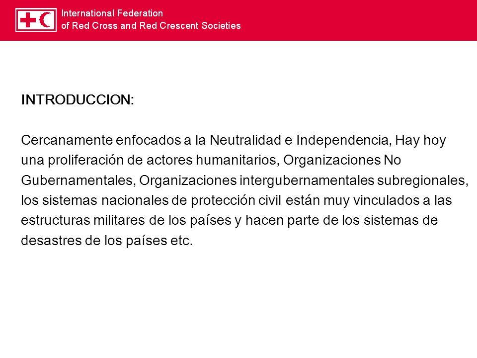 Movimiento de la Cruz Roja y Media Luna Roja: -Estatutos del Movimiento Internacional de la Cruz Roja.