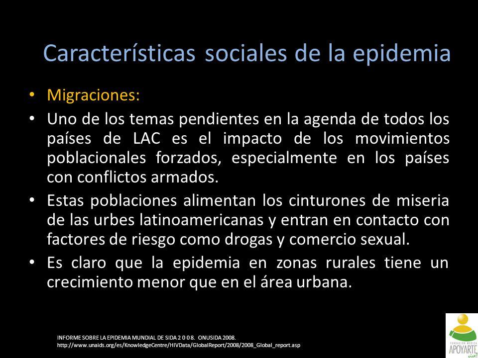 Migraciones: Uno de los temas pendientes en la agenda de todos los países de LAC es el impacto de los movimientos poblacionales forzados, especialmente en los países con conflictos armados.