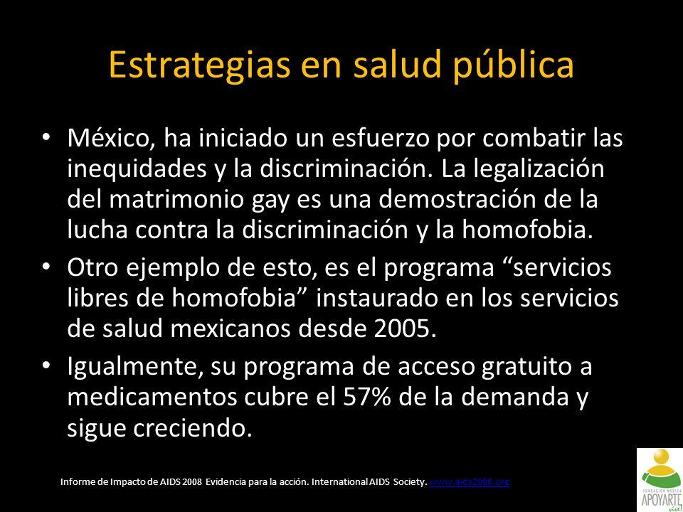 México, ha iniciado un esfuerzo por combatir las inequidades y la discriminación.