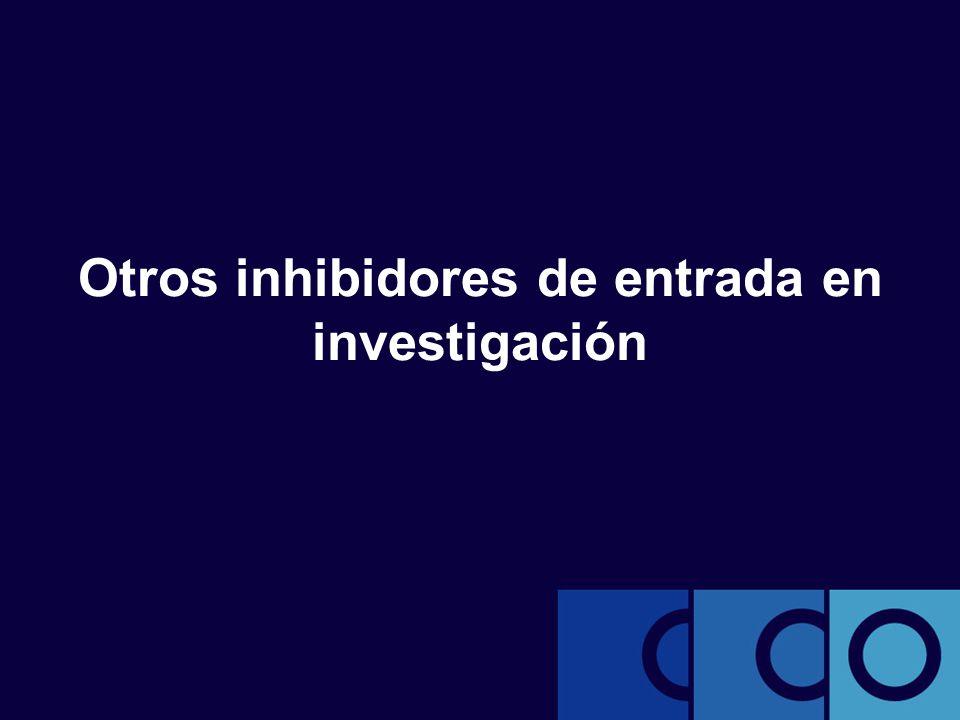 Otros inhibidores de entrada en investigación