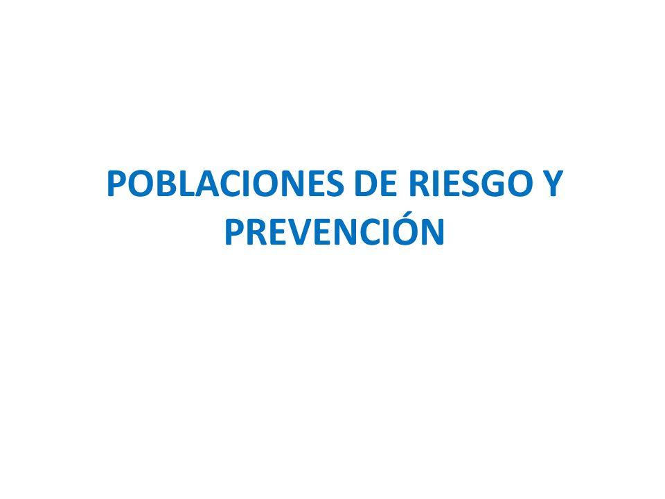 Epidemia y Prevención Epidemia concentrada: – Estrategia preventiva Decisiones políticas Favorecer el acceso a métodos específicos en las poblaciones expuestas.