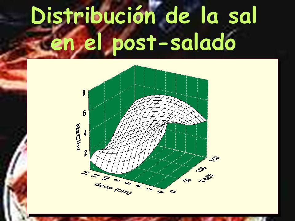 Distribución de la sal Inicial Zona crítica Conc.Estabilizante