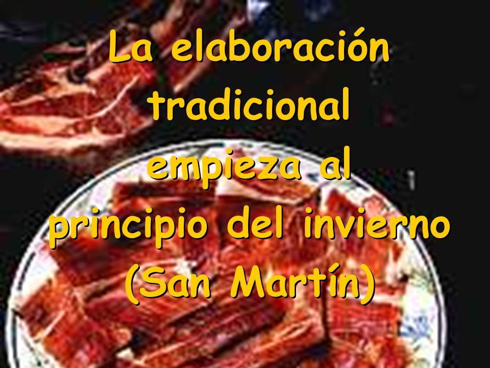 La elaboración tradicional empieza al principio del invierno (San Martín) La elaboración tradicional empieza al principio del invierno (San Martín)