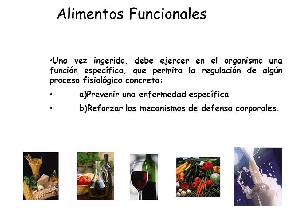 Los alimentos funcionales son alimentos, es decir, deben diferenciarse de los suplementos de la dieta.