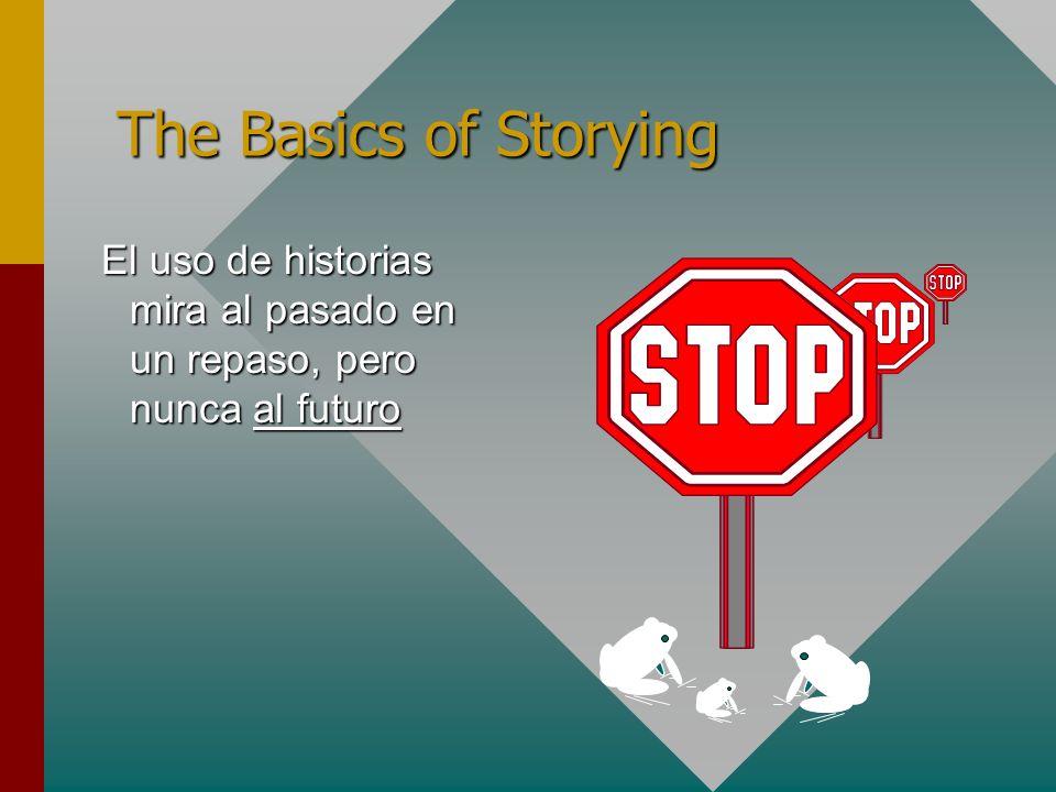 El uso de historias mira al pasado en un repaso, pero nunca al futuro El uso de historias mira al pasado en un repaso, pero nunca al futuro The Basics