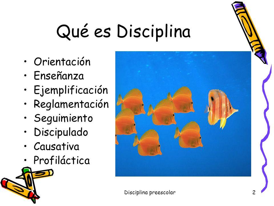 Disciplina y Castigo Énfasis en la Etapa Preescolar Por, Dr. Joselito Orellana Mora MET, MGE, MSE, PhD. www.joselitoorellana.blogspot.com chelomg7@hot