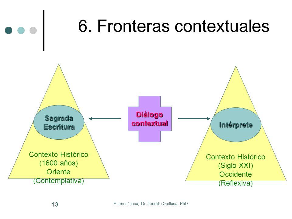 Hermenéutica; Dr. Joselito Orellana, PhD 12 Aplicación Práctica La Biblia no es el fin en sí misma; es el medio. Los creyentes no somos bibliólatras n
