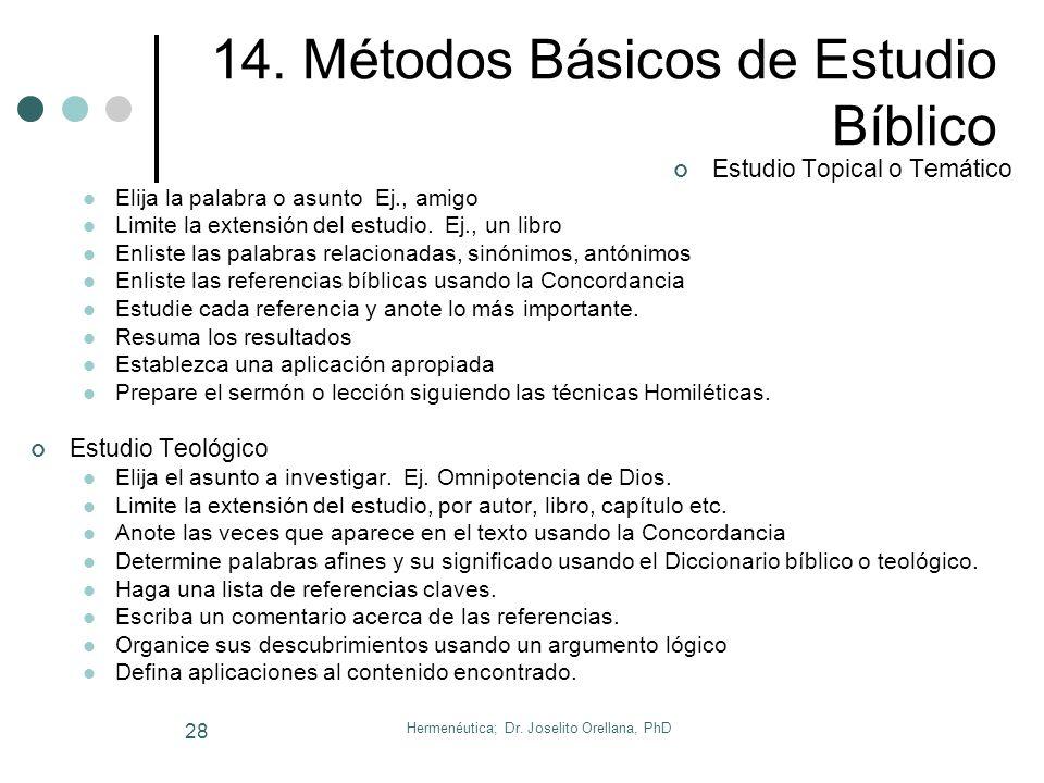 Hermenéutica; Dr. Joselito Orellana, PhD 27 Numerología..… 50 = Salvación, y se encuentra como 300 veces en la Biblia. Ej. Gén. 18 refiere la interces