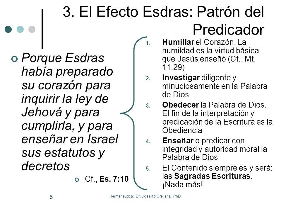 Hermenéutica; Dr. Joselito Orellana, PhD 4 2. Importancia (Pr. 30:5-6) Hechos 6:2, 4. Según Pedro, el siervo de Dios debe persistir y enfocarse en: La