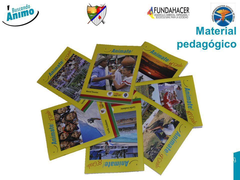 GOBERNACION DE ARAUCA 14 Material pedagógico