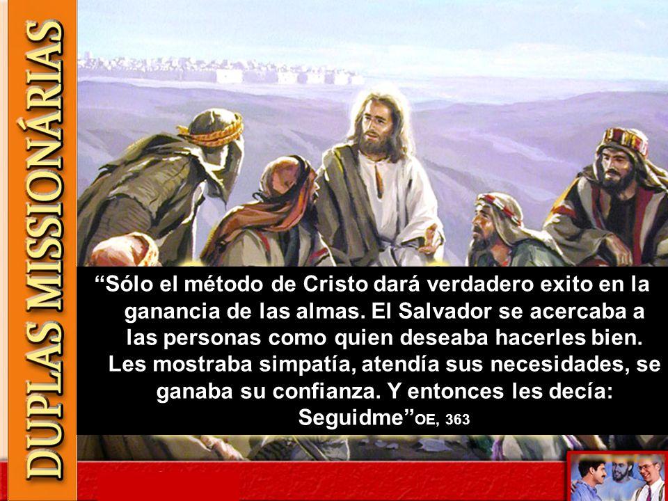 Sólo el método de Cristo dará verdadero exito en la ganancia de las almas. El Salvador se acercaba a las personas como quien deseaba hacerles bien. Le