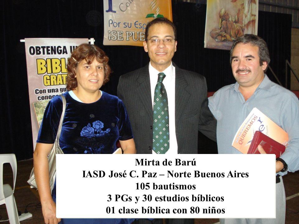 LA IGLESIA DEBE SER EL OASIS DE AMOR ESPIRITUAL POR EXCELENCIA, EN ESTE MUNDO DE ODIO Y RECHAZO. Mirta de Barú IASD José C. Paz – Norte Buenos Aires 1