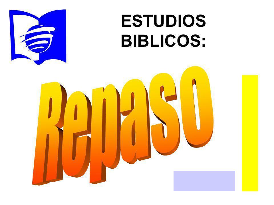 ESTUDIOS BIBLICOS: