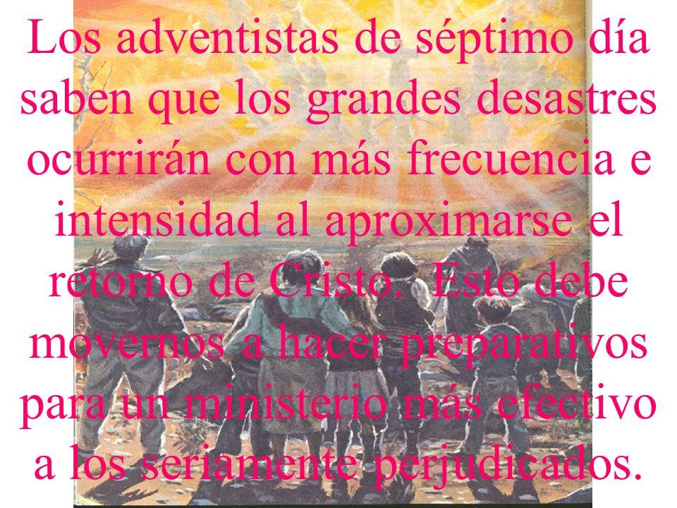 FUENTES ESPECIALES DE LOS ADVENTISTA DEL SEPTIMO DIA PARA ESTE MINSITERIO Este ministerio de los adventistas del séptimo día es fortalecido con instru
