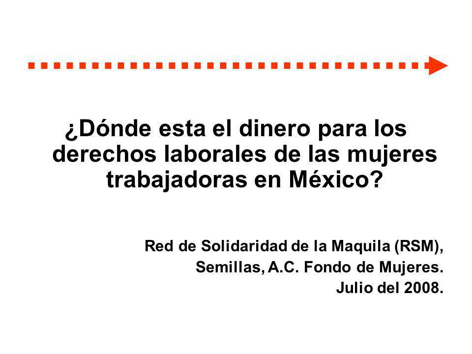 Proceso de 2-1/2 años Trabajo de análisis y colaboración entre RSM y Semillas.