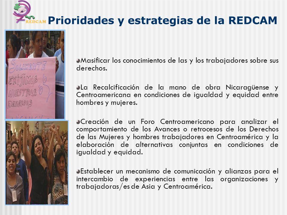 Masificar los conocimientos de las y los trabajadores sobre sus derechos. La Recalcificación de la mano de obra Nicaragüense y Centroamericana en cond