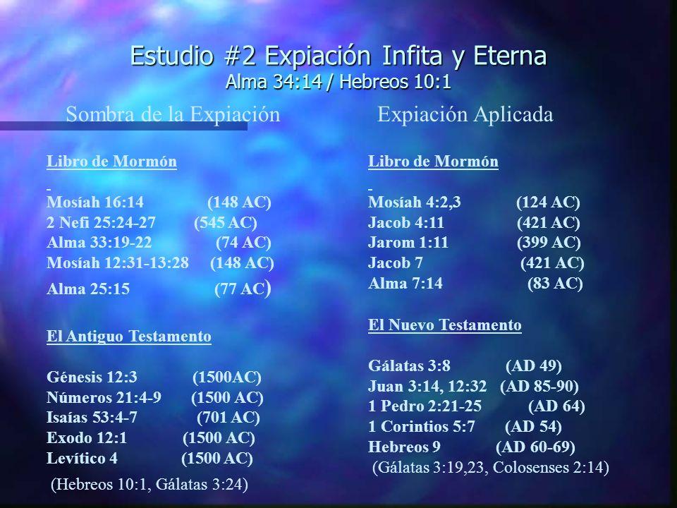 Estudio #2 (cont.) El Misterio n Efesios 1:9,10 El misterio….tendrá efecto cuando los tiempos hayan llegado a su cumplimiento.