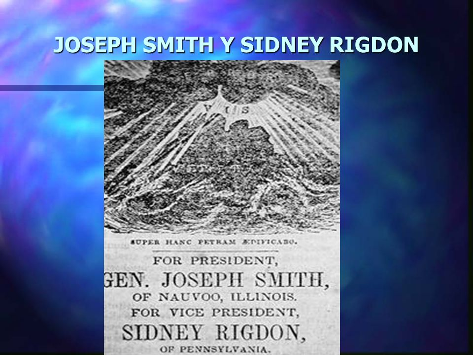 GENERAL JOSE SMITH