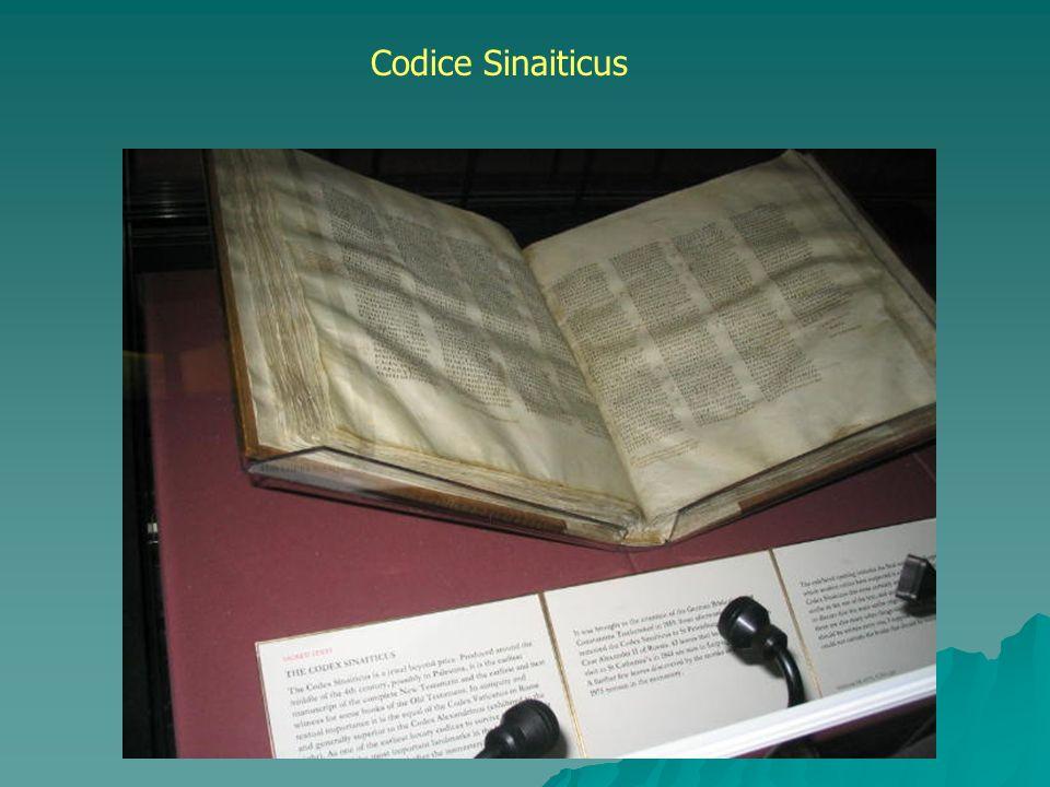 Codice Sinaiticus