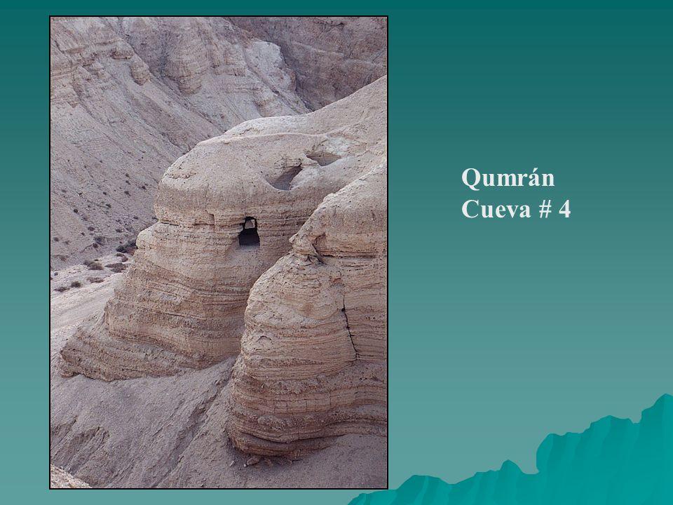 Qumrán Cueva # 4