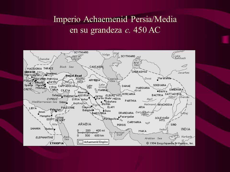 Imperio Achaemenid Persia/Media en su grandeza c. 450 AC
