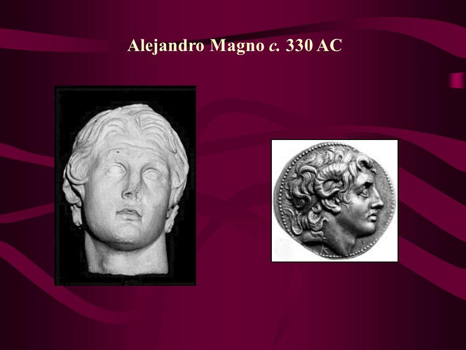 Alejandro Magno c. 330 AC