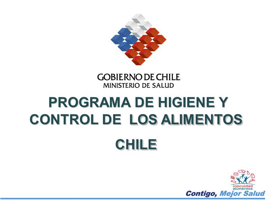LOS ALIMENTOS PROGRAMA DE HIGIENE Y CONTROL DE LOS ALIMENTOSCHILE CHILE